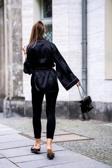 Wie trägt man komplett schwarz