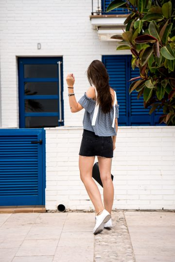 Wie trägt man einen Jeansrock