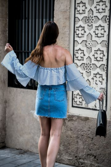 how to wear Off-Shoulder