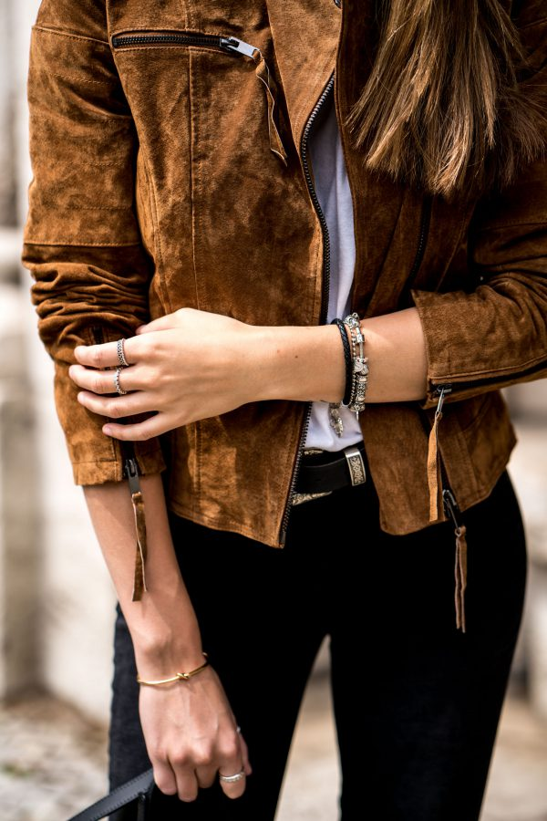 Vila Leather jacket