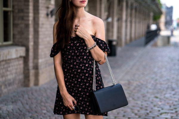 black Agneel bag