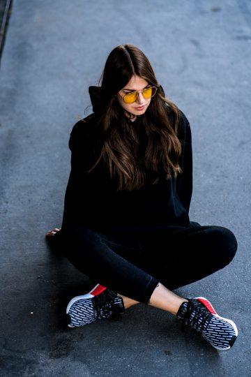 gelbe Subdued Sonnenbrille