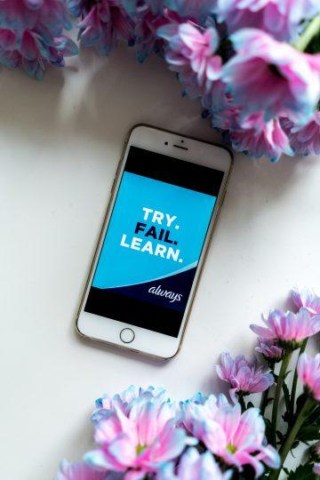 #WieEinMädchen – probiert Neues aus, macht Fehler, lernt dazu und macht weiter!