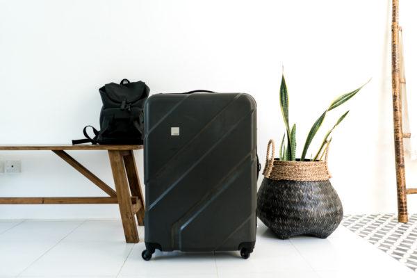 Gepäck für zwei Wochen Sommerurlaub