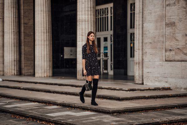 Wie trägt man Overknee Boots