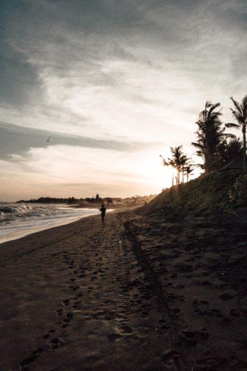 Keramas Beach auf Bali