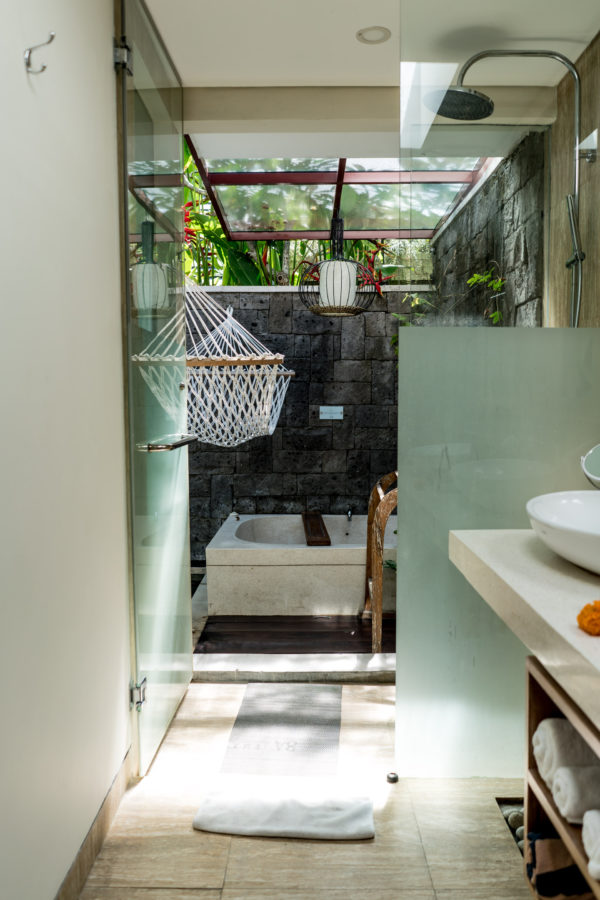 bathroom at one room villa at Ini Vie Villas
