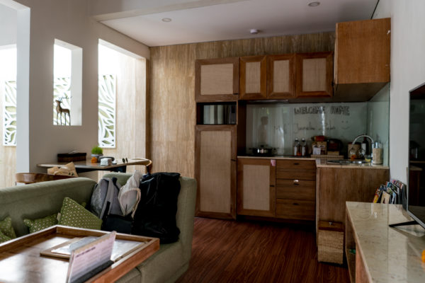 Küche Ein-Zimmer-Villa Ini Vie Villas