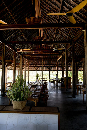 Restaurant im Komaneka at Keramas Beach