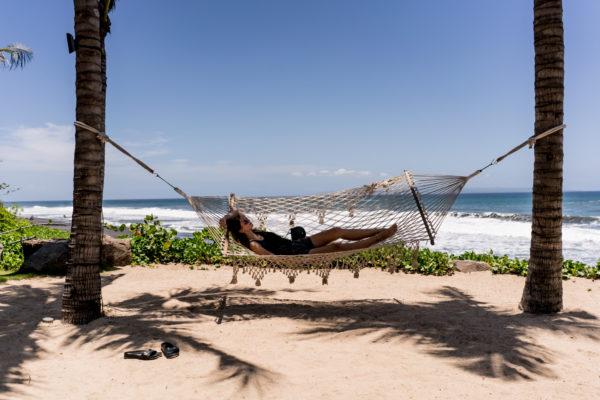 hammock at Komaneka at Keramas Beach