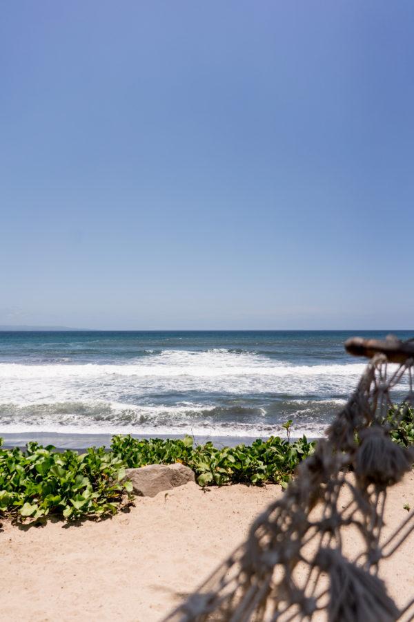 Strand im Komaneka at Keramas Beach