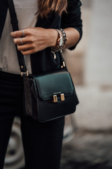 how to wear a cross-body bag