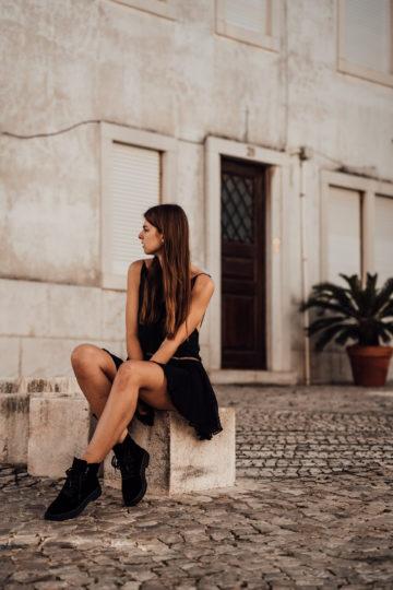 schwarze Calvin Klein Boots
