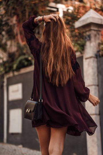 wearing a dress in november