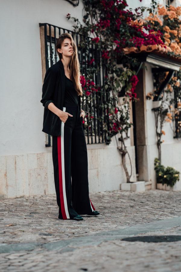 Wie trägt man eine lockere Hose
