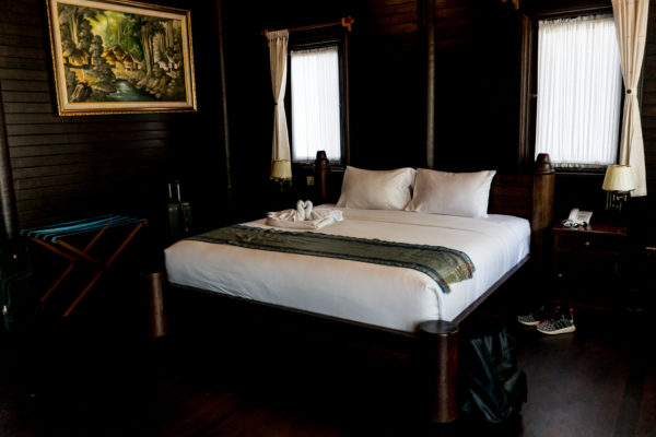 bed in the Coconut Boutique Resort