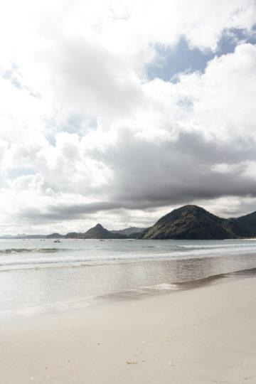Strand im Süden Lomboks
