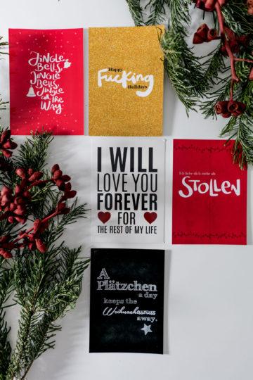 Weihnachtsgeschenke Guide: persönliche Postkarten und Fotos von MyPostcard