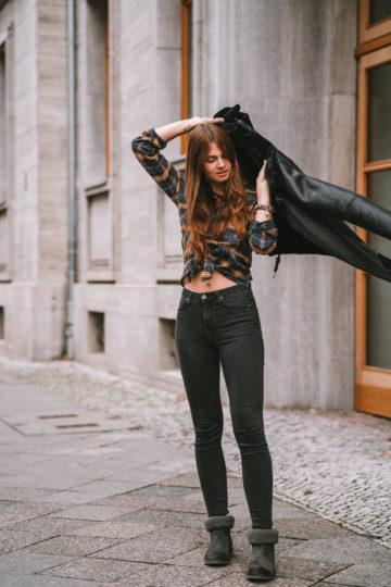 Wie trägt man eine Skinny Jeans