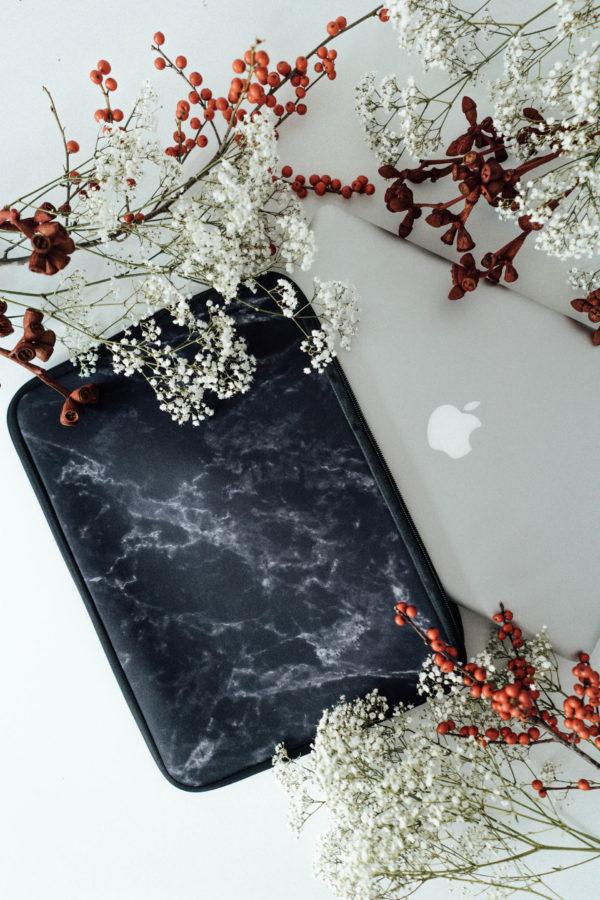 Laptop Tasche caseable Marmor