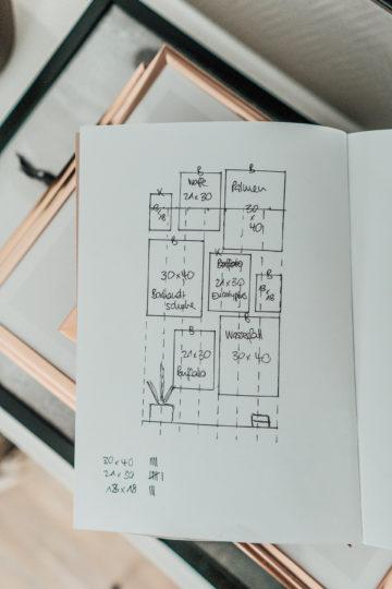 Wie gestaltet man eine Gallery Wall