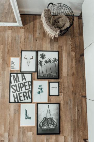 Gallery Wall zusammenstellen