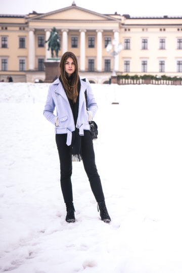 winter outfit in Oslo