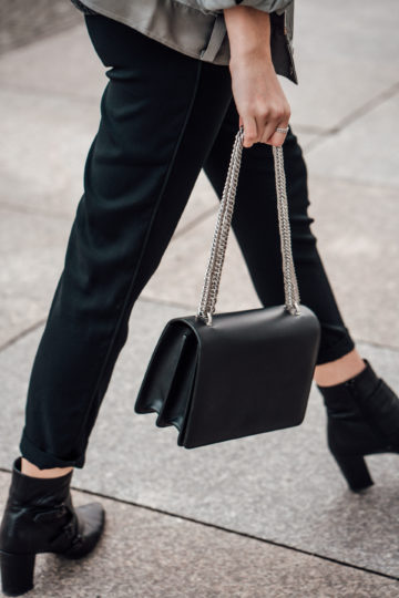 black Agneel bag