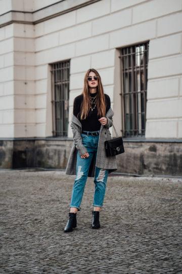 zerrissene Asos Jeans