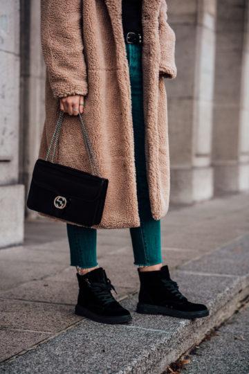 black Calvin Klein Boots