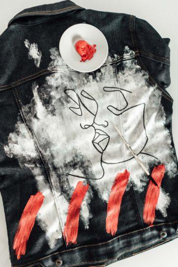 Denim DIY mit einer Jeans und Jeansjacke aus Raw Denim