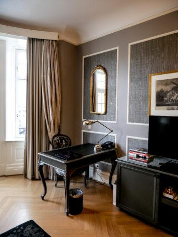Grand Hotel Oslo Arbeitsbereich