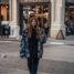 New York Streetstyle: übergroße Camouflage Jacke