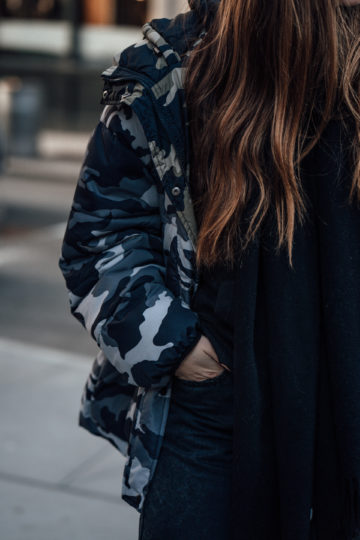 how to style Camouflage Print
