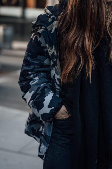Wie trägt man Camouflage Print