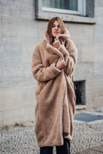 H&M Teddy coat Winter 2018