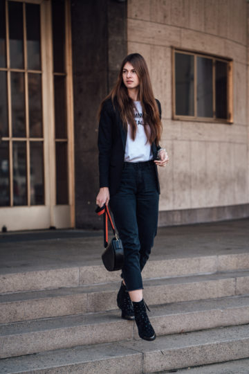 chic Blazer casual styled