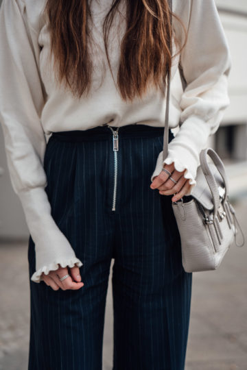 sweater with arm detail