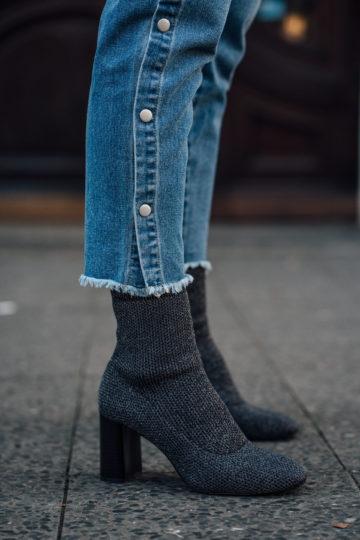 Wie trägt man Sock Boots