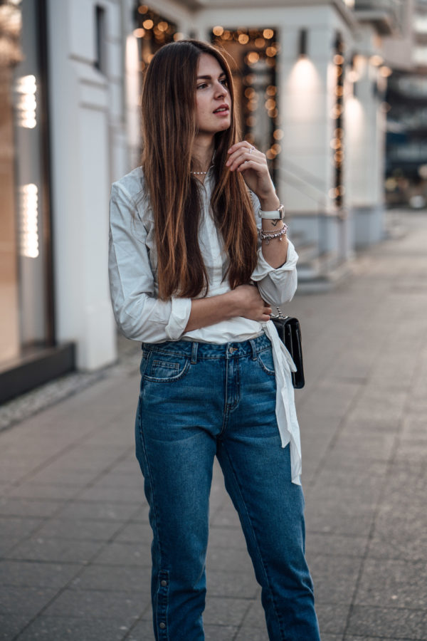 Denim styled in a chic way