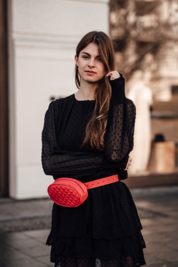red beltbag
