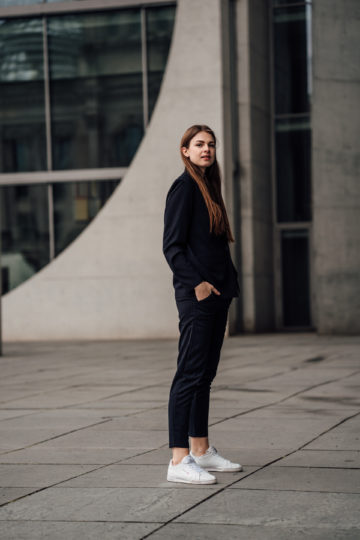 women's suit casual schick styled