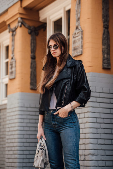 leather jacket spring trend 2018
