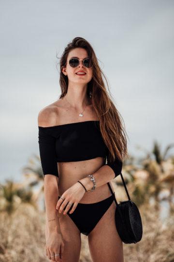 Saupie Bikini schwarz