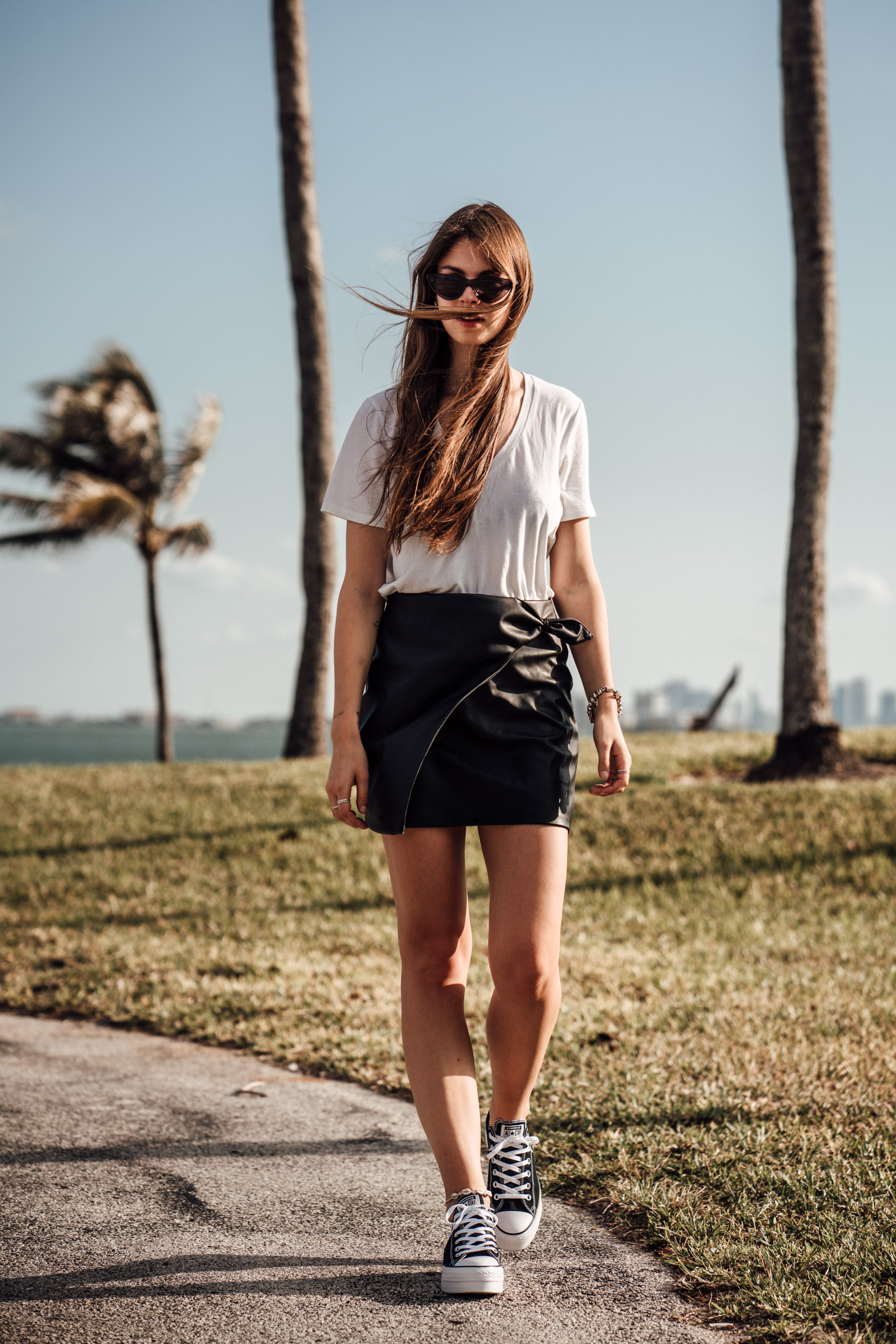 Leather-Skirt-Plateau-Converse-Miami-Rental-Car-19