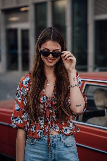 Vintage Style Sonnenbrille