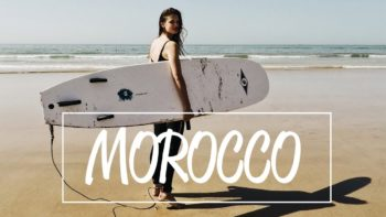 Travel Vlog – surfing in morocco