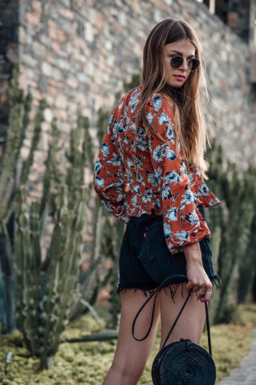 Florales Shirt Sommer