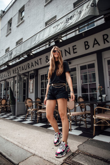 Travel Outfit: how to combine an all black outfit