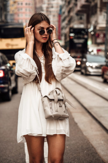 Styling white dresses